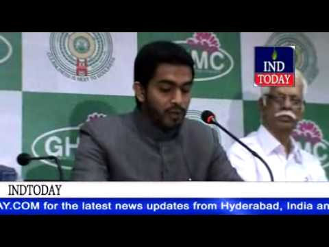 Greater Hyderabad MIM Mayor Mohammed Majid Hussain completes his term, explains his achievements