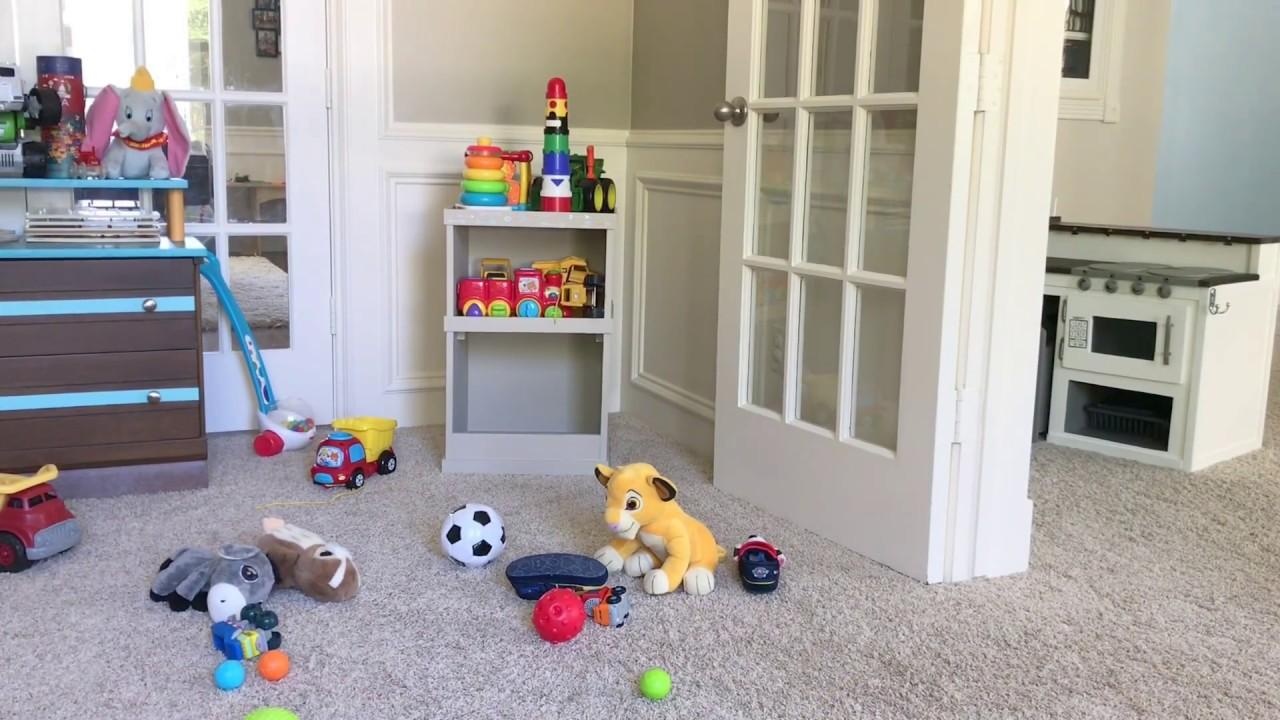 Diy Toy Storage Reversible Cabinet Hidden Storage