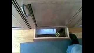 Hidden Stash Under Cabinet