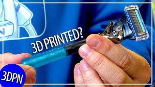 Gillette is 3D Printing Custom Razor Handles with Razor Maker