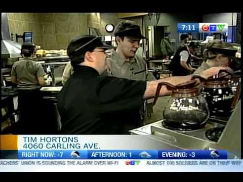 Tim Hortons 1 - First Job