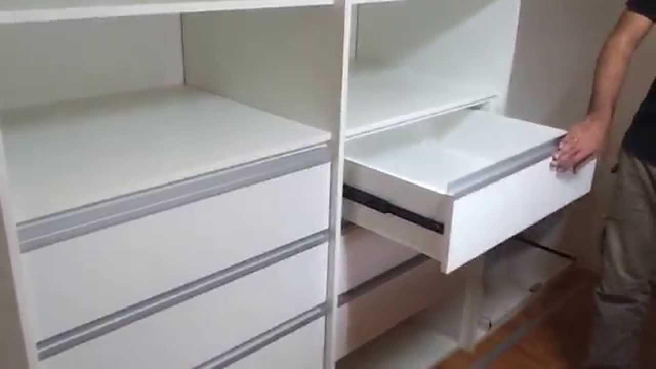 Placard blanco manijas j correderas telescopicas en villa for Manijas para puertas