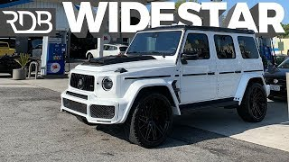 #RDBLA BRABUS WIDESTAR G WAGON, BRUSHED WRAP FERRARI, CRASHED PERFORMANTE. *TOTALLED*