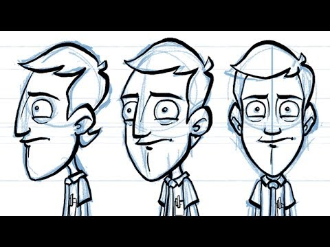 how to draw a character turnaround youtube