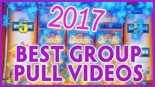 🎉 GROUP SLOT PULL Best of 2017 Videos 🔥 ✦ WINS of $500++ ✦ Slot Machine Pokies w Brian Christopher