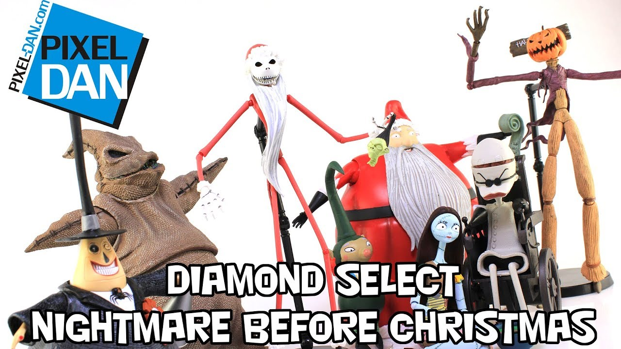 The Nightmare Before Christmas Diamond Select Toys Toy Fair 2021
