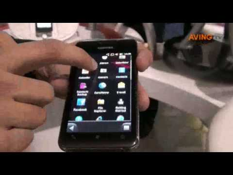 Toshiba to present its new Windows Mobile handset 'TG02' at MWC 2010