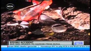 Four people die last evening after a bus roll along Kisumu Busia highwayay.