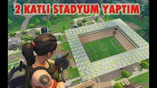 2 KATLI STADYUM YAPTIM ( Fortnite Playground Modu )