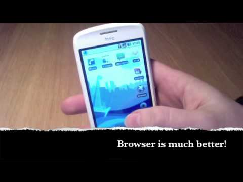 HTC Magic running Android Eclair 2.1