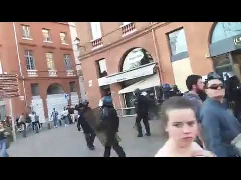 Toulouse 23 03 2019 compilation