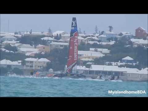 Let's Race -  Artemis Team Sweden vs  Emirates Team New Zealand   No Jib