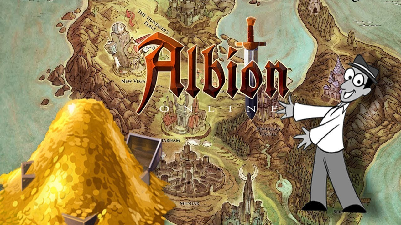 Albion Online The New World After Map Reset Second Map Wipe