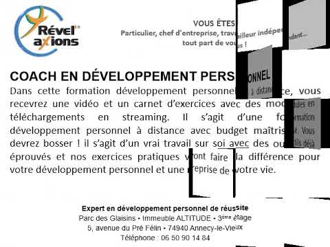 low priced special sales price reduced Coaching en développement personnel à Annemasse