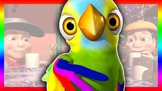 O papagaio Pepe - A Fazenda do Zenão 3 | O Reino das Crianças thumbnail