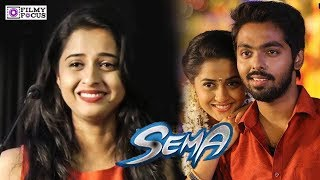 Video Sema Heroine in Tears : Arthana Binu | G. V. Prakash Kumar | Sandali Song download MP3, 3GP, MP4, WEBM, AVI, FLV Oktober 2018