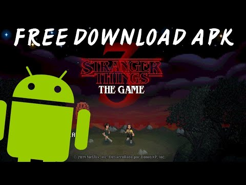 Stranger Things 3 The Game - Free Download (ANDROID) - 동영상