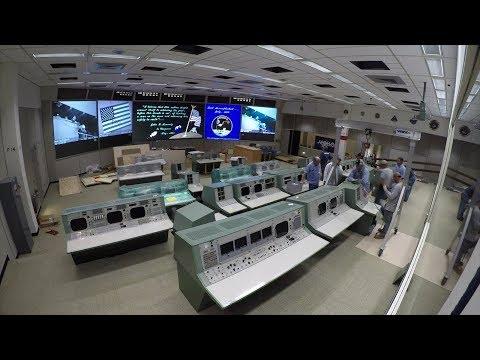 Apollo Historic Mission Control Restoration Time-lapse