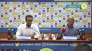 Tisková konference hostujícího trenéra po utkání Teplice - Sparta (12.8.2018)