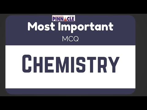 Most important MCQ chemistry I General Science