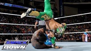 The Lucha Dragons vs. The New Day's Kofi Kingston & Xavier Woods: SmackDown, December 10, 2015