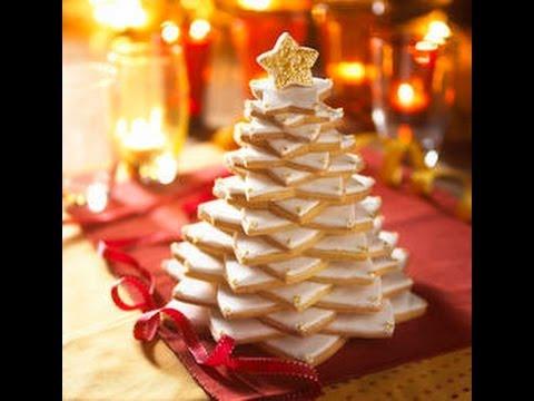 Albero Di Natale Fatto Con I Biscotti.Albero Di Natale Fatto Di Biscotti Ricetta Per Natale Facile E