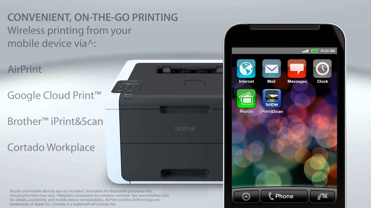 Brother Digital Color Printer With Wireless Networking And Duplex What Is A Pcb Every Gadget Electronics Enthusiast Should Hl 3170cdw Youtube