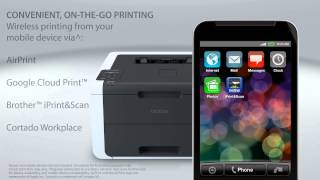 Brother™ Digital Color Printer with Wireless Networking and Duplex   HL-3170cdw