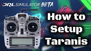 How to setup a taranis to work with DRL Simulator