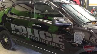 Stealth Police Cars And Ghost Lettering | Police Graphics | Police Car