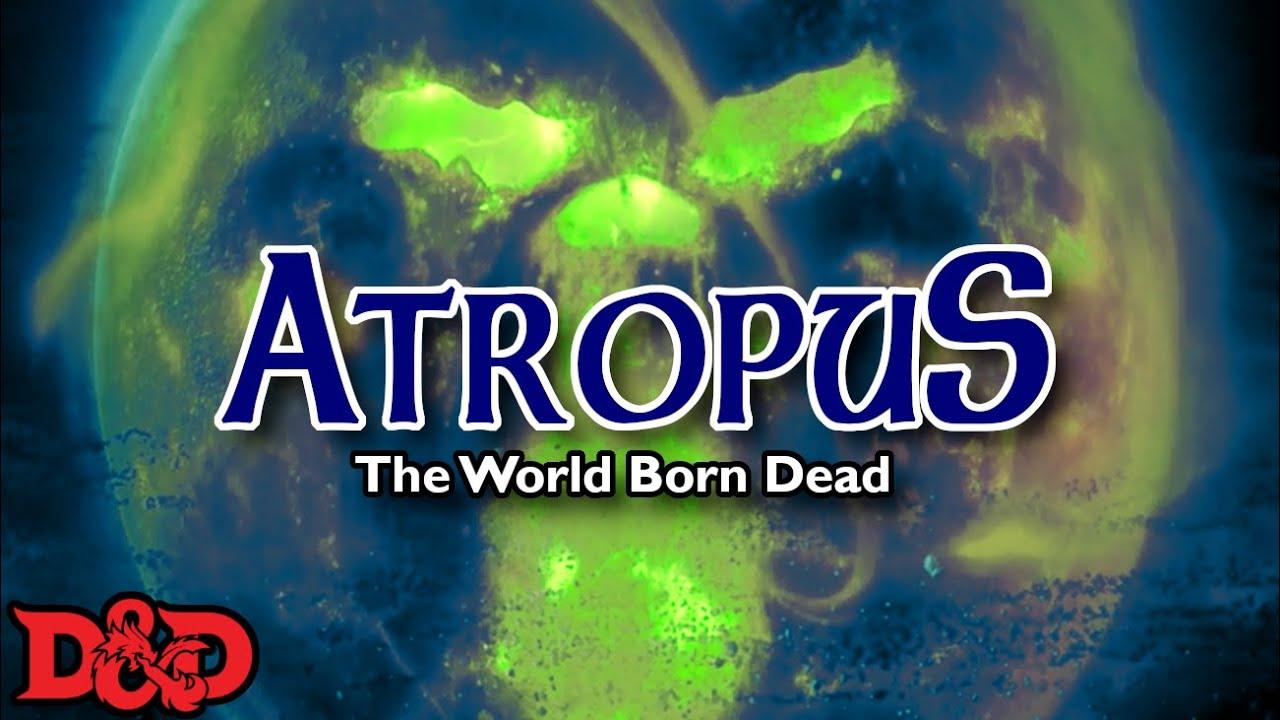 Download Atropus a PLANET Sized Elder Evil   D&D Lore