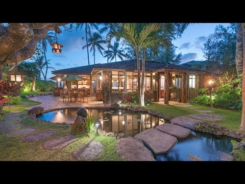 Lanikai Beach Luxury Estate For Sale | 1208 Mokulua Drive, Kailua, Hawaii 96734