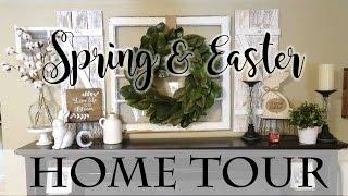 Spring & Easter Farmhouse Style Home Tour