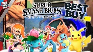 SSBU Chicago Tour: Pokemon Trainer VS. Inkling Vs. Pikachu