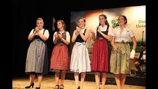 So schön und spannend war die Miss Herbstfest Kür 2018 in Aschau!