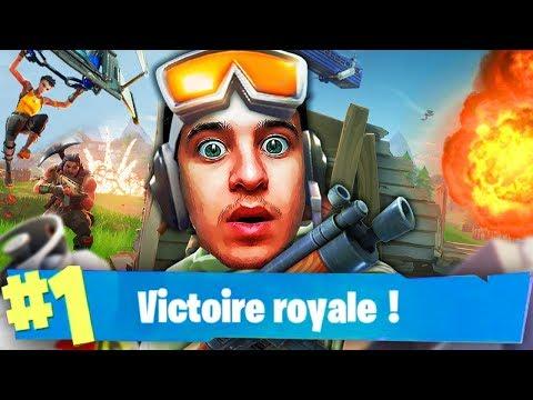 LA PARTIE FORTNITE LA PLUS WTF! (Battle Royale)