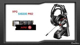 Dysk SSD XPG SX8200 Pro szybki test + Rzut oka najlepsze słuchawki XPG