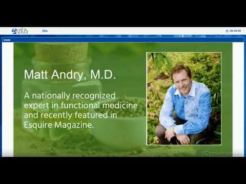 Health and Science of Zilis CBD Oil by Dr. Matt Andry