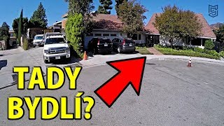 Kde bydlí JUSTIN Bieber? - Luxusní Hollywood Hills Motovlog