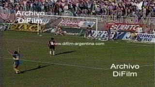 Boca Juniors vs Lanus - Torneo Clausura 1991