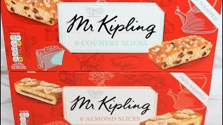 Mr. Kipling: Country Slices & Almond Slices Review