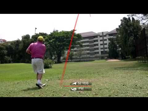 1st Hole ZZ Tee Shot Asia Pattaya Golf Course Thailand