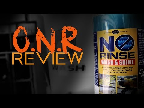 ONR  Optimum No Rinse review ( guide test usage how to use tutorial )