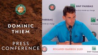Dominic Thiem - Press Conference after Quarterfinals | Roland-Garros 2019