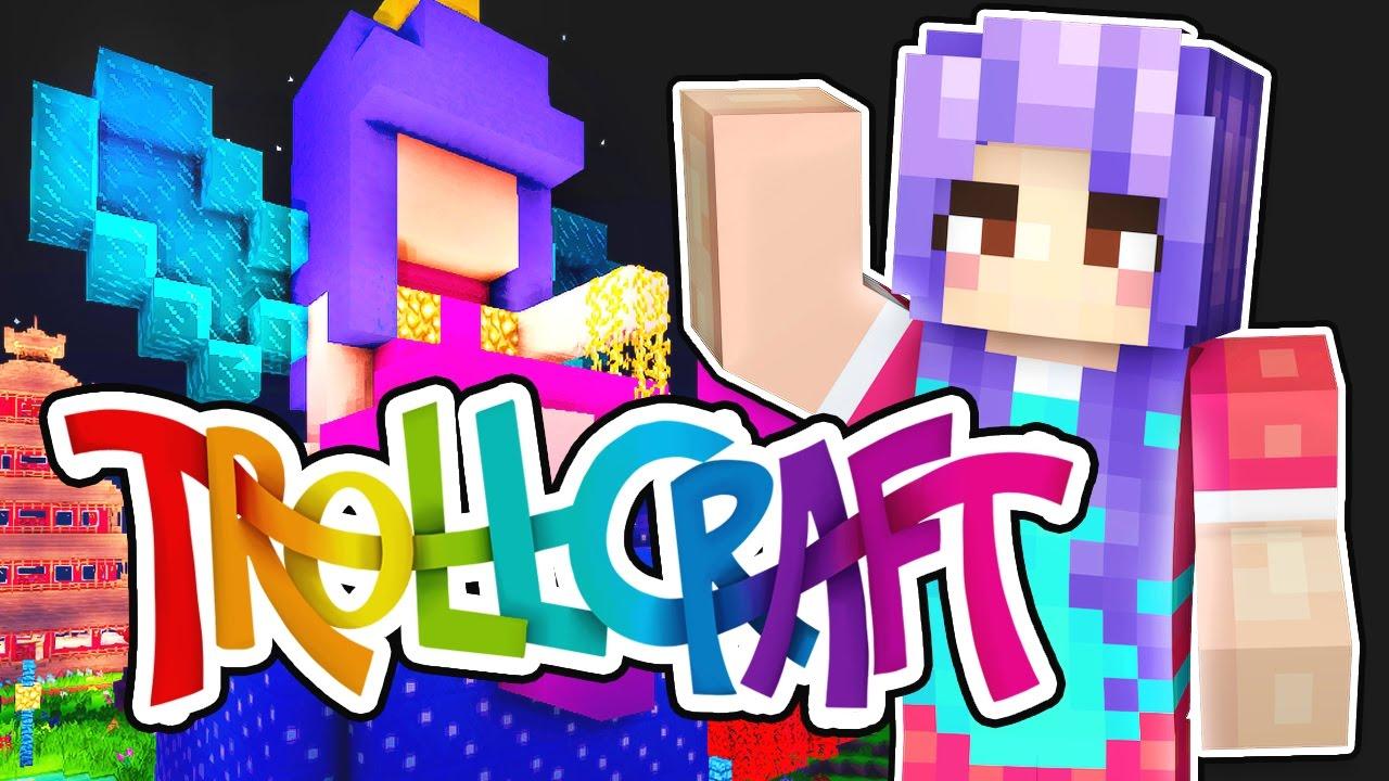 Minecraft Trollcraft Part 8 My New Fairy House Amp Bird