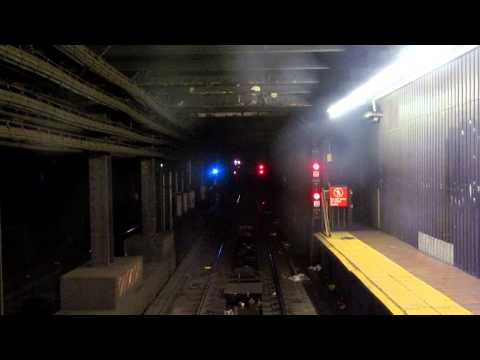 NYC Subway 8th Avenue Line - Fulton St to 207th Street Express