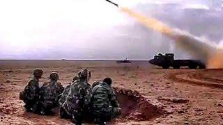 خطيييير !!!! مقطع مسرب من وزارة الدفاع الجزائرية في الحدود مع ليبيا