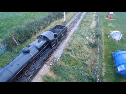 SWANAGE STEAM RAILWAY INC TORNADO  FROM THE AIR, DRIVERS SEAT, AND THE  GROUND ,