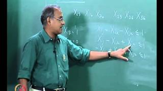 Mod-01 Lec-14 Algorithm considering sequence of visit of machines