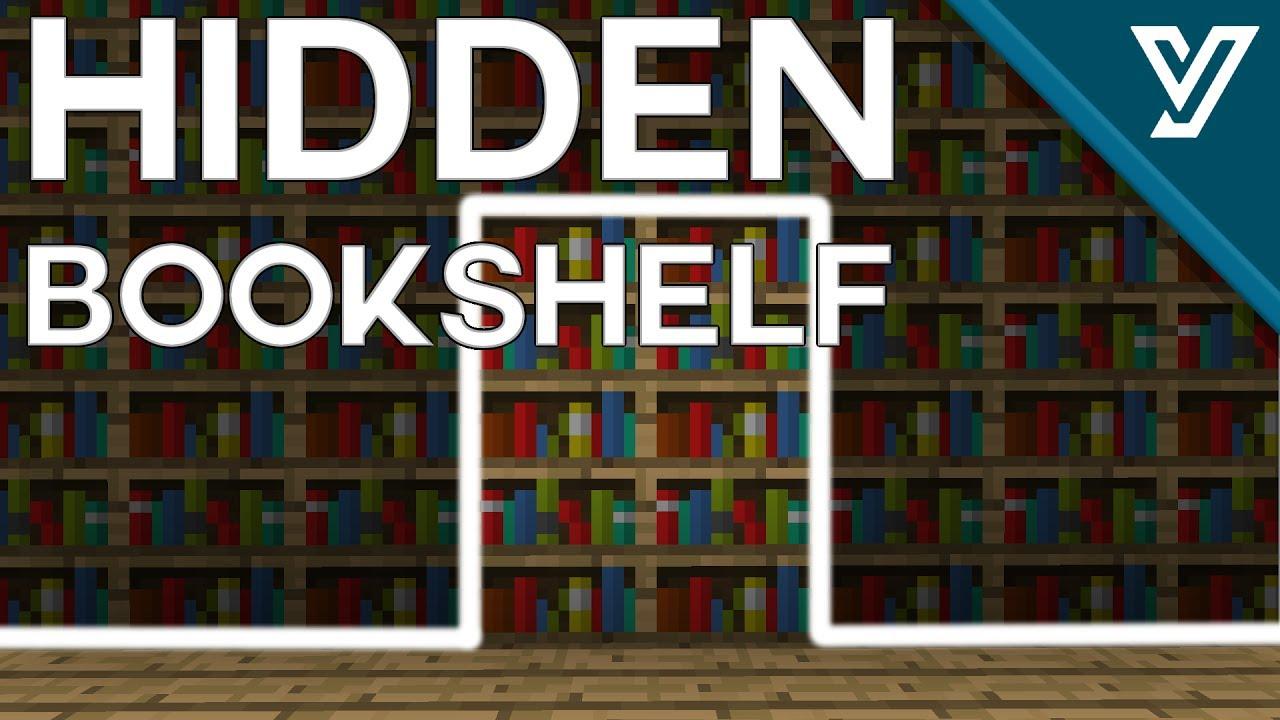 [TUTORIAL] TINY Hidden Bookshelf Door for Minecraft ( 1.11 / 1.12 )  sc 1 st  YouTube & TUTORIAL] TINY Hidden Bookshelf Door for Minecraft ( 1.11 / 1.12 ...